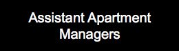 Assistant Apartment Managers