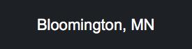 Bloomington MN