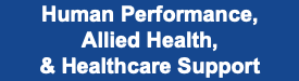 Human Performance Allied Health and Healthcare Support